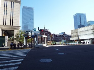 赤レンガの東京駅