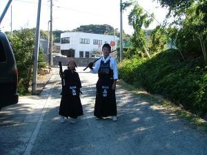 中学時の剣道